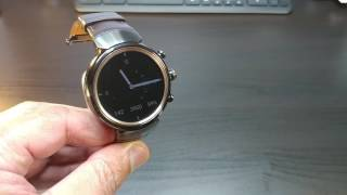 Asus Zenwatch 3 Last Word Review (15 minutes 60% charge)