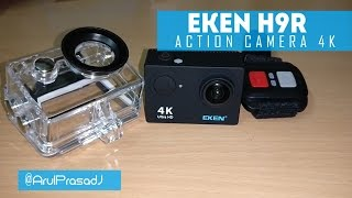 EKEN H9R 4K Ultra HD WiFi Waterproof Action Camera review.