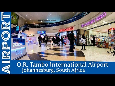 Johannesburg OR Tambo International Airport - Transit and Walk-through