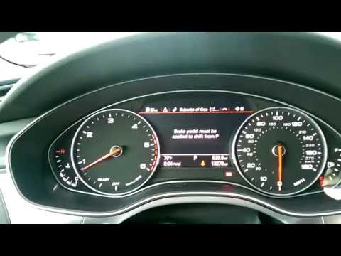 2016 audi a6 3 0 tdi 2nd adblue refill notification 600 miles youtube. Black Bedroom Furniture Sets. Home Design Ideas