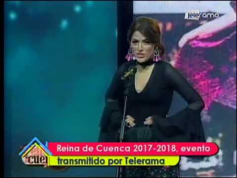Reina de Cuenca 2017 - 2018, evento transmitido por Telerama