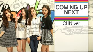 [Kpop] 1theK COMING UP NEXT [CHN Ver.] - 2nd week of October, 2014(10월 2주차) [KOR/JPN SUB]