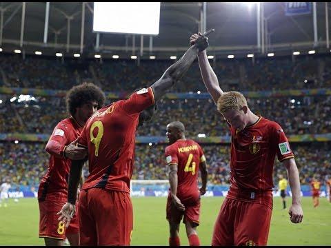 BELGIUM's highlights 2-1 USA | 2014 World Cup 1/8 final | 2014/07/01