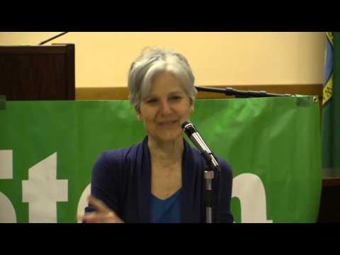 Jill Stein at Seattle Labor Temple, June 6, 2015