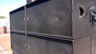 сабики martin audio WS218X