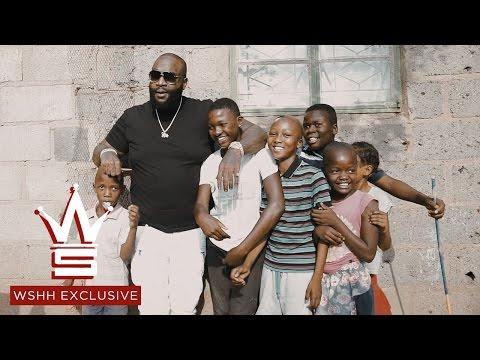 Rick Ross Gives Away Money To The Kids In Botswana! (Southern Africa) (WSHH Exclusive)