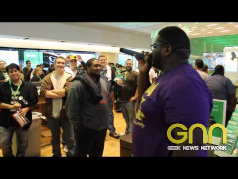 Mega Ran freestyles for Xbox One launch