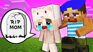 Monster School : RIP Poor Baby Herobrine Girl (Part 2)- SAD STORY - Minecraft Animation
