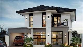 50 Small Two Storey House Designs That Can Be Fitted In Small Lot Area