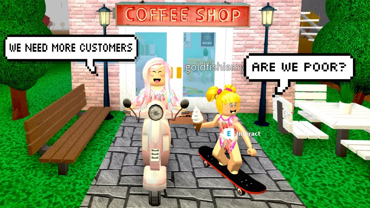 Bloxburg Family Routine Coffee Shop Is In Trouble Titi Games