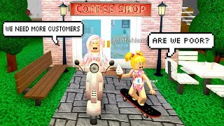 Bloxburg Adventures With Goldie - Coffee Shop is in Trouble! Roblox Roleplay - Titi Games