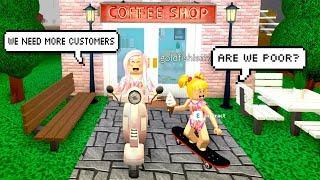 Bloxburg aventures avec Goldie - café-restaurant est en difficulté! Roblox Roleplay - jeux de Titi