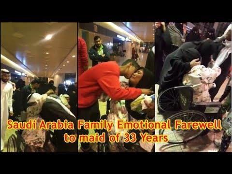 Saudi family bid emotional farewell to maid of 33 years