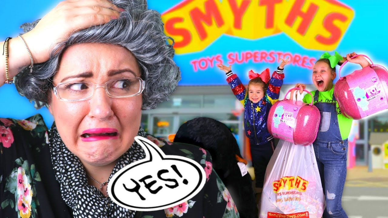 GRANNY Said YES to EVERYTHING Kids Want For 24 Hours Challenge!!! image