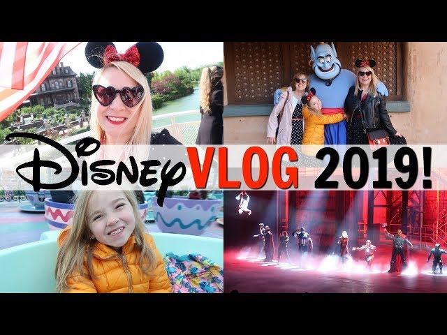 DISNEYLAND PARIS VLOG PART 2 2019!