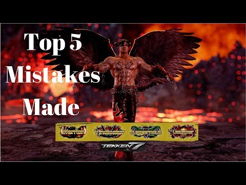 Top 5 Mistakes Player Make in the Yellow Ranks Tekken 7