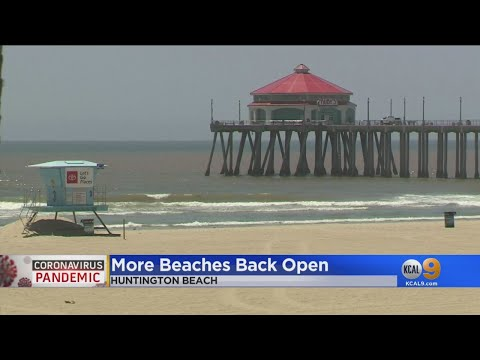 Huntington Beach, Seal Beach And Dana Point Get OK To Reopen Beaches
