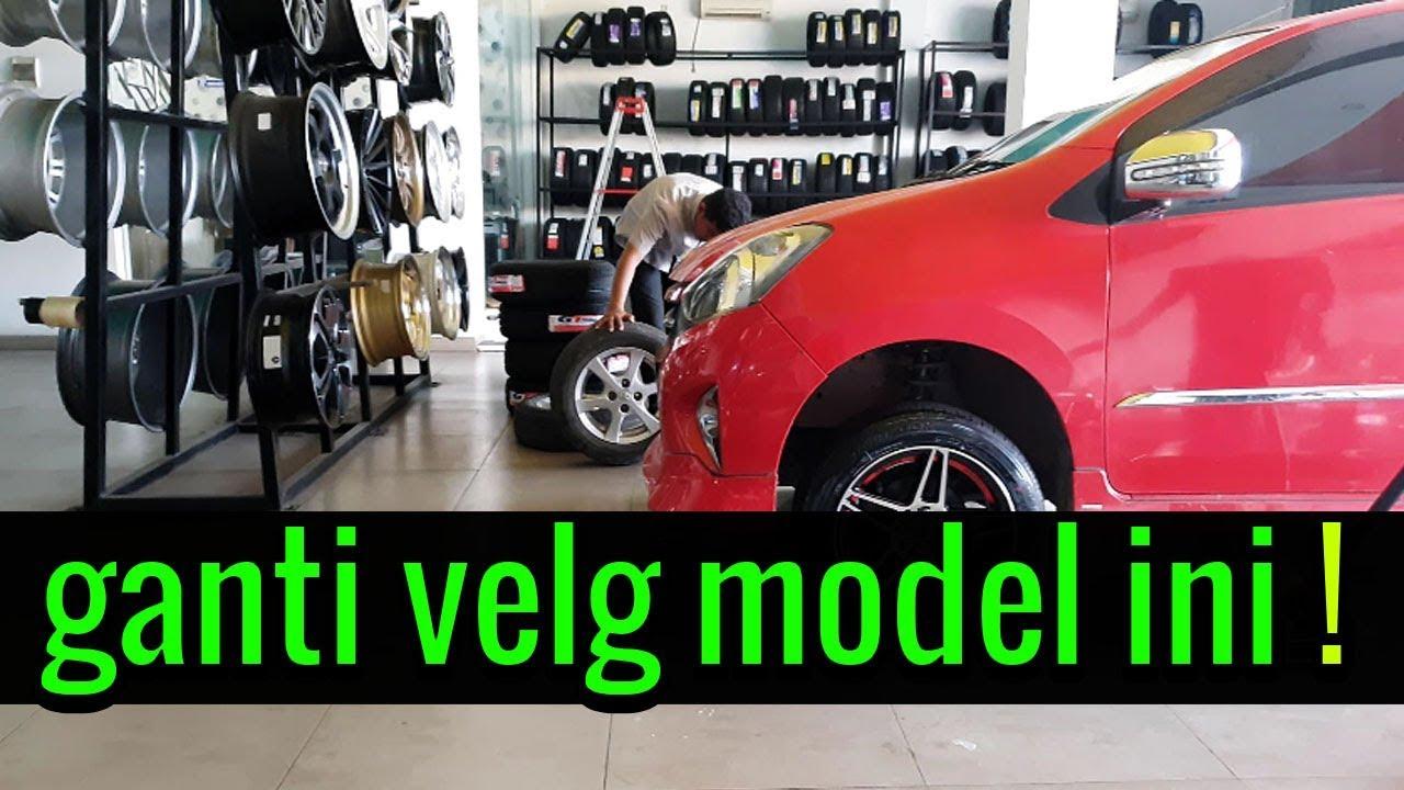 Pasang Velg Mobil Rays Club Ring 15 Di Toyota Agya Modifikasi By Otomax Car Youtube