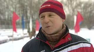 Соревнования по лыжам среди младших школьников