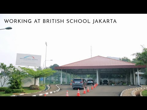 Working at British School Jakarta