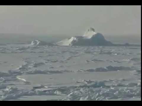 Самый мощный ледокол колет самый толстый лед avi