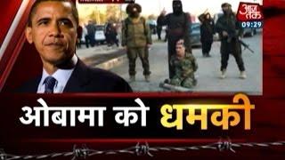 ISIS threatens to behead Obama at White House