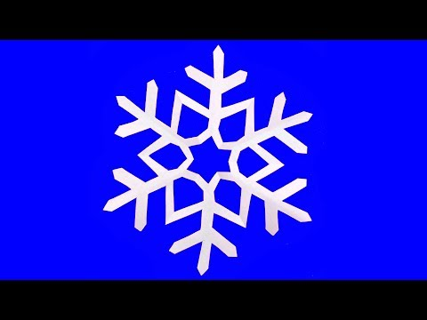 How to make Snowflakes very Simple Way - Paper Snowflake tutorial #Mr.Maker