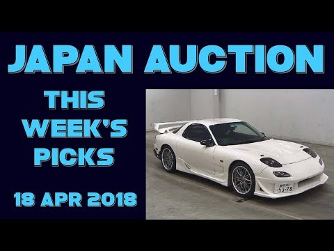 Japan Weekly Auction Picks 065 - 18 Apr 18