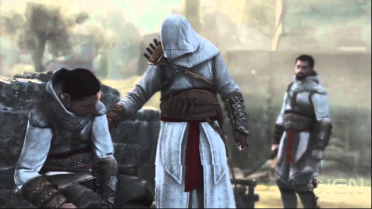 Assassin S Creed Revelations Altair In Action Youtube