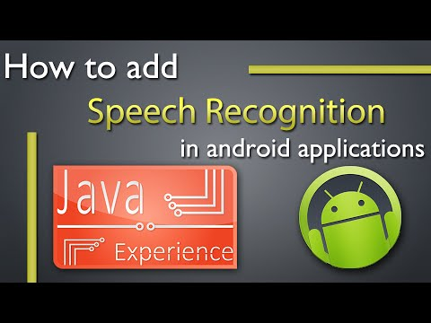How to do Speech recognition in android