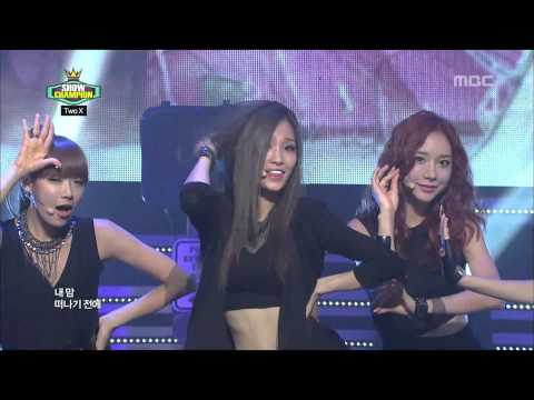 Show Champion, Two X - Double Up #03, 투엑스 - 더블 업 20120828