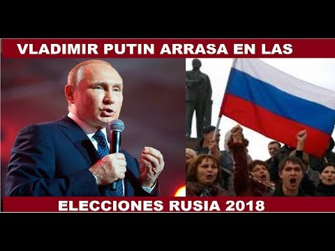 VLADIMIR PUTIN ARRASA EN LAS ELECCIONES RUSAS