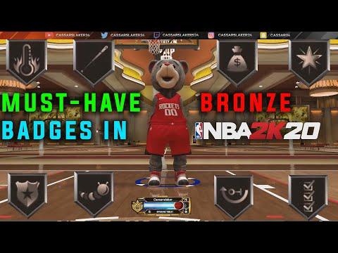 *NEW* TOP SECRET MUST HAVE BRONZE BADGES in NBA 2K20