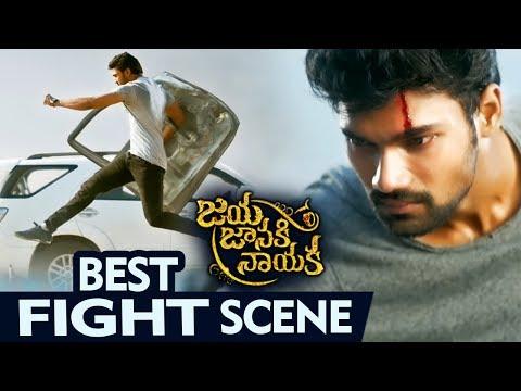 Bellamkonda Srinivas Saves Jagapathi Babu - Best Fight Scene - Jaya Janaki Nayaka Movie