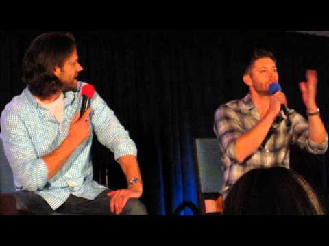 DCcon 2014 - Jensen's Big Brother Being Upset at Dean Getting Beat Up
