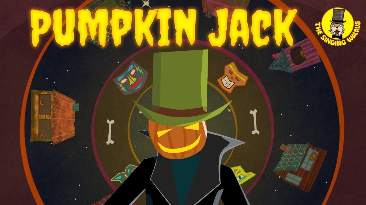 Pumpkin Jack Halloween Music For Kids The Singing Walrus Youtube