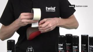 Аэрозоль-краска для гладкой кожи Твист