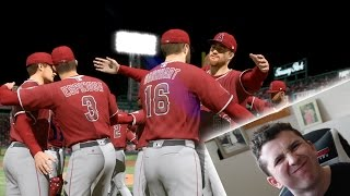 THE MOST STRESSFUL GAME EVER! AL CHAMPIONSHIP PLAYOFFS! MLB THE SHOW 17 ROAD TO THE SHOW