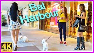4K WALK Bal Harbour SLOW TV MIAMI 4k video TRAVEL channel