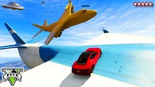 GTA 5 Online BIG FAT YELLOW CARGOPLANE Sandbox!!! - Funny Moments Yellow BANANA CARGOPLANE GTA 5
