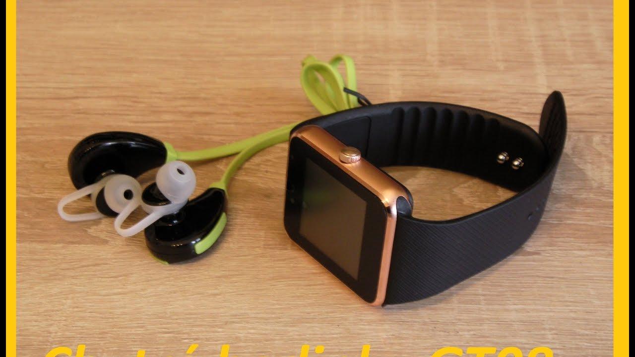 Chytre Hodinky Gt08 Bluetooth Sluchatka Sd Karta 8gb Unboxing