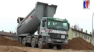 Mercedes-Benz Actros 4146 Dump Truck, Fa. Feess, Fellbach, Germany, 19.02.2015.