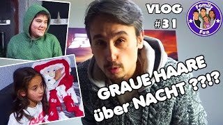 GRAUE HAARE ÜBER NACHT Neuer Style Daily Vlog #31 Our life FAMILY FUN
