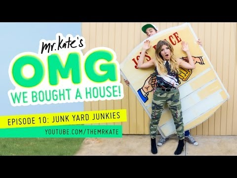 OMG We Bought A House! Episode 10: Junkyard Junkies!