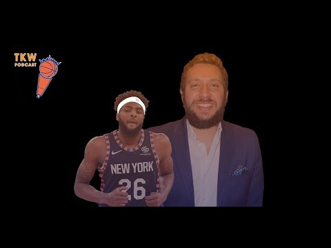 The Future of Mitchell Robinson with agent Mayar Zokaei | TKW Podcast