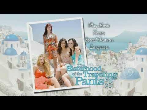 The Sisterhood Of The Traveling Pants 2 (2008) DVD Menu