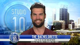 Video Blake From The Bachelorette Australia 2017 | Studio 10 download MP3, 3GP, MP4, WEBM, AVI, FLV November 2017