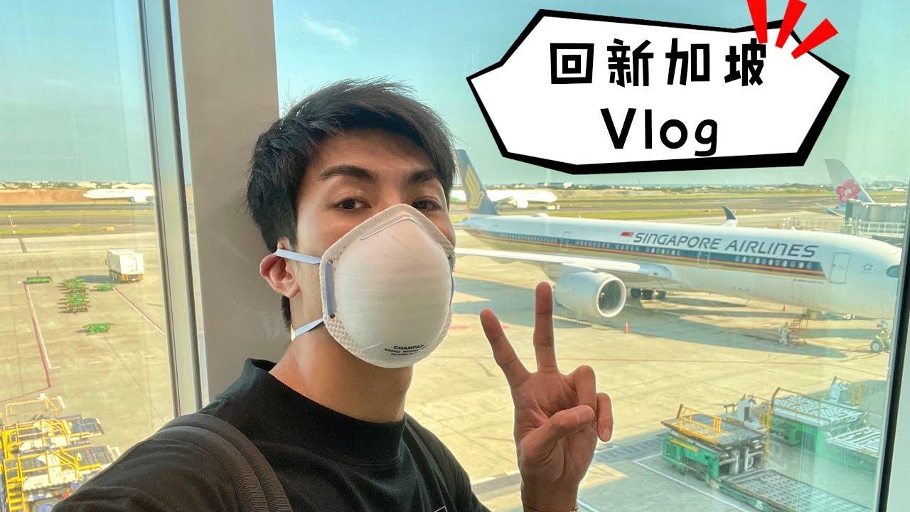 台灣去新加坡免隔離!回新加坡 VLOG!
