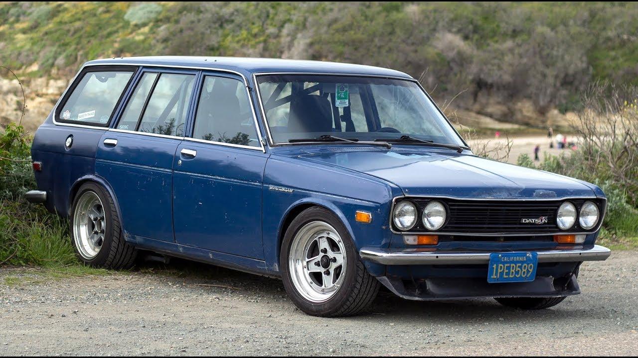 Modified Datsun 510 Wagon One Take Youtube