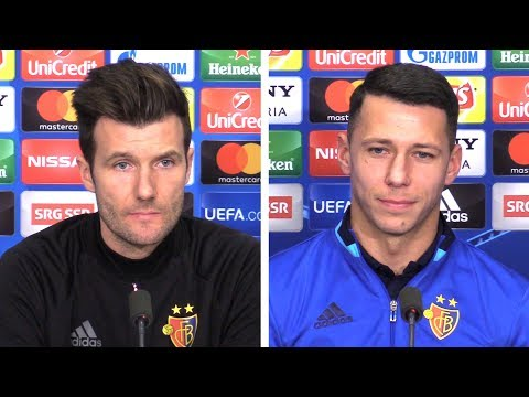 Raphael Wicky & Marek Suchy Full Pre-Match Press Conference - Basel v Manchester City